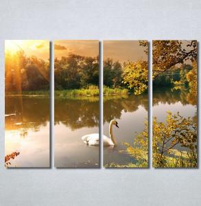 Slike na platnu Labud na jezeru Nina30286_4