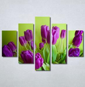 Slike na platnu Ljubičaste lale tulipani Nina30350_5