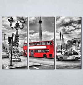 Slike na platnu London crveni autobus Nina136_3