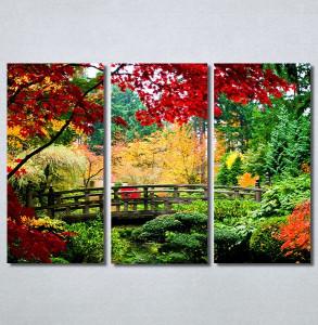 Slike na platnu Most u parku Nina30375_3