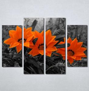 Slike na platnu Narandzasti cvet Nina128_4
