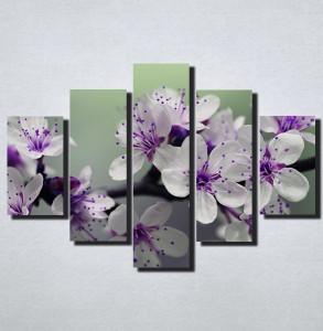 Slike na platnu Nezno ljubicasti cvet Nina166_5