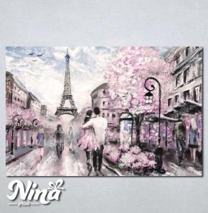 Slike na platnu Pariz Zaljubljeni par Nina237_P