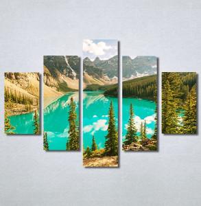 Slike na platnu Planina i jezero Nina30341_5