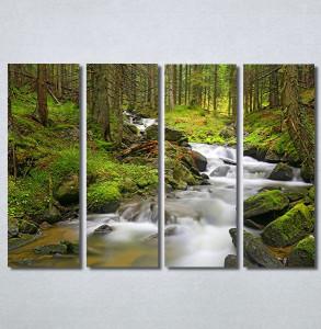 Slike na platnu Planinski potok Nina30371_4