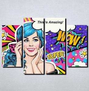 Slike na platnu Pop Art Nina148_4