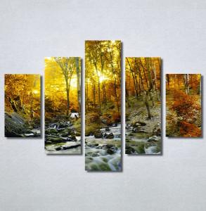 Slike na platnu Potok kroz šumu Nina30273_5