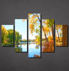 Slike na platnu Reka u jesen Nina30127_5