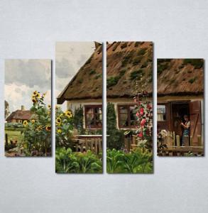 Slike na platnu Stari salas Nina205_4