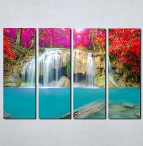 Slike na platnu Vodopad Nina079_4