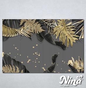 Slike na platnu Zlatna paprat Nina313_P