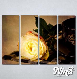 Slike na platnu Žuta ruža Nina242_4