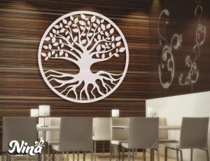 Dekor Nina Drvo krug nd016