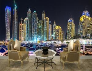 Foto tapeta Dubai Tapet157