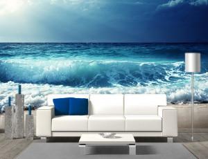 Foto tapeta Veliki morski talasi Tapet079