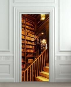 Nalepnica za vrata Biblioteka 6182