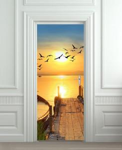 Nalepnica za vrata Izlazak sunca 6171