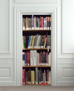 Nalepnica za vrata Knjige 6044