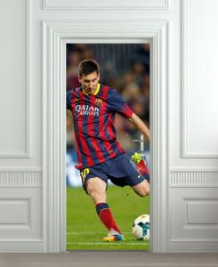 Nalepnica za vrata Messi 6035