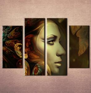 Slika na platnu Devojka sa krilima Nina3064_4