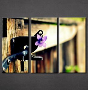 Slika na platnu Ljubicasti cvet Nina3053_3