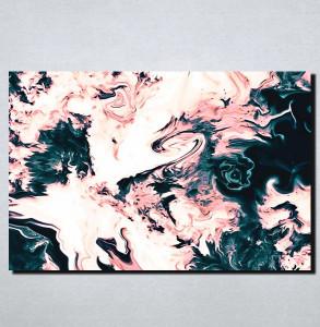 Slike na platnu Apstrakcija pastelne boje Nina168_P