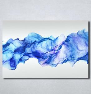 Slike na platnu Apstrakcija plavo Nina161_P