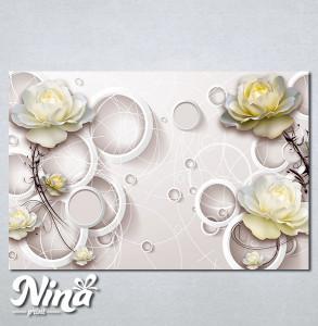 Slike na platnu Bež ruža Nina274_P