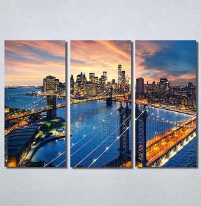 Slike na platnu City and sunset Nina30227_3