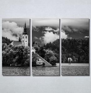 Slike na platnu Crkva na obali Nina30207_3