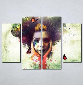 Slike na platnu Čudna devojka Nina060_4