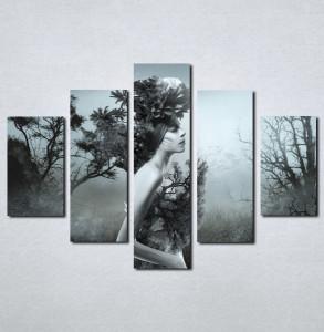 Slike na platnu Devojka i priroda Nina073_5