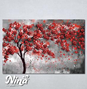 Slike na platnu Drvo crveno lišće Nina296_P