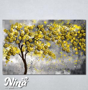Slike na platnu Drvo žuto lišće Nina295_P