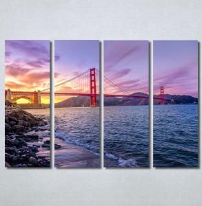 Slike na platnu Golden Gate Bridge Nina30287_4