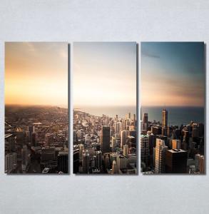 Slike na platnu Grad i zalazak sunca Nina30162_3