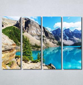 Slike na platnu Jezero na planini Nina30338_4