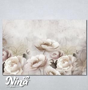 Slike na platnu Krem cvetna bajka Nina333_P
