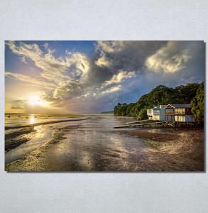 Slike na platnu Kuća na plaži Nina30209_P