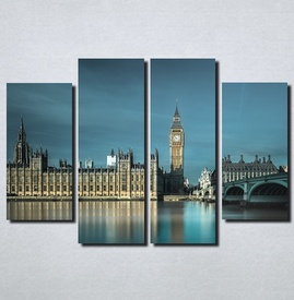Slike na platnu London Big Ben Nina104_4