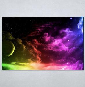Slike na platnu Mesec i nebo Nina019_P