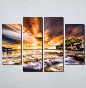 Slike na platnu More i zalazak sunca Nina068_4
