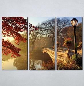 Slike na platnu Most i priroda Nina063_3