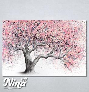 Slike na platnu Neobicno drvo Nina241_P
