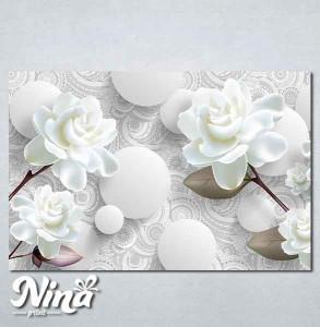 Slike na platnu Nežna bela ruža Nina275_P