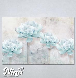 Slike na platnu Nežno plavi cvet Nina258_P