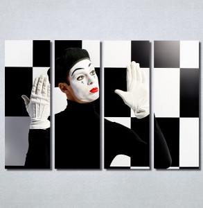 Slike na platnu Pantomimičar Nina30141_4