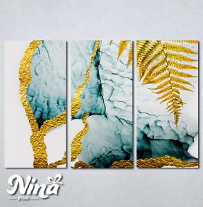 Slike na platnu Paprat apstrakcija Nina264_3