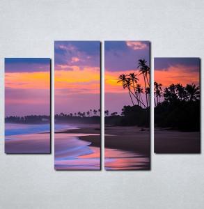 Slike na platnu Plaža i more Nina088_4