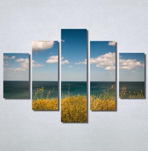 Slike na platnu Pogled na more i vedro nebo Nina30156_5A